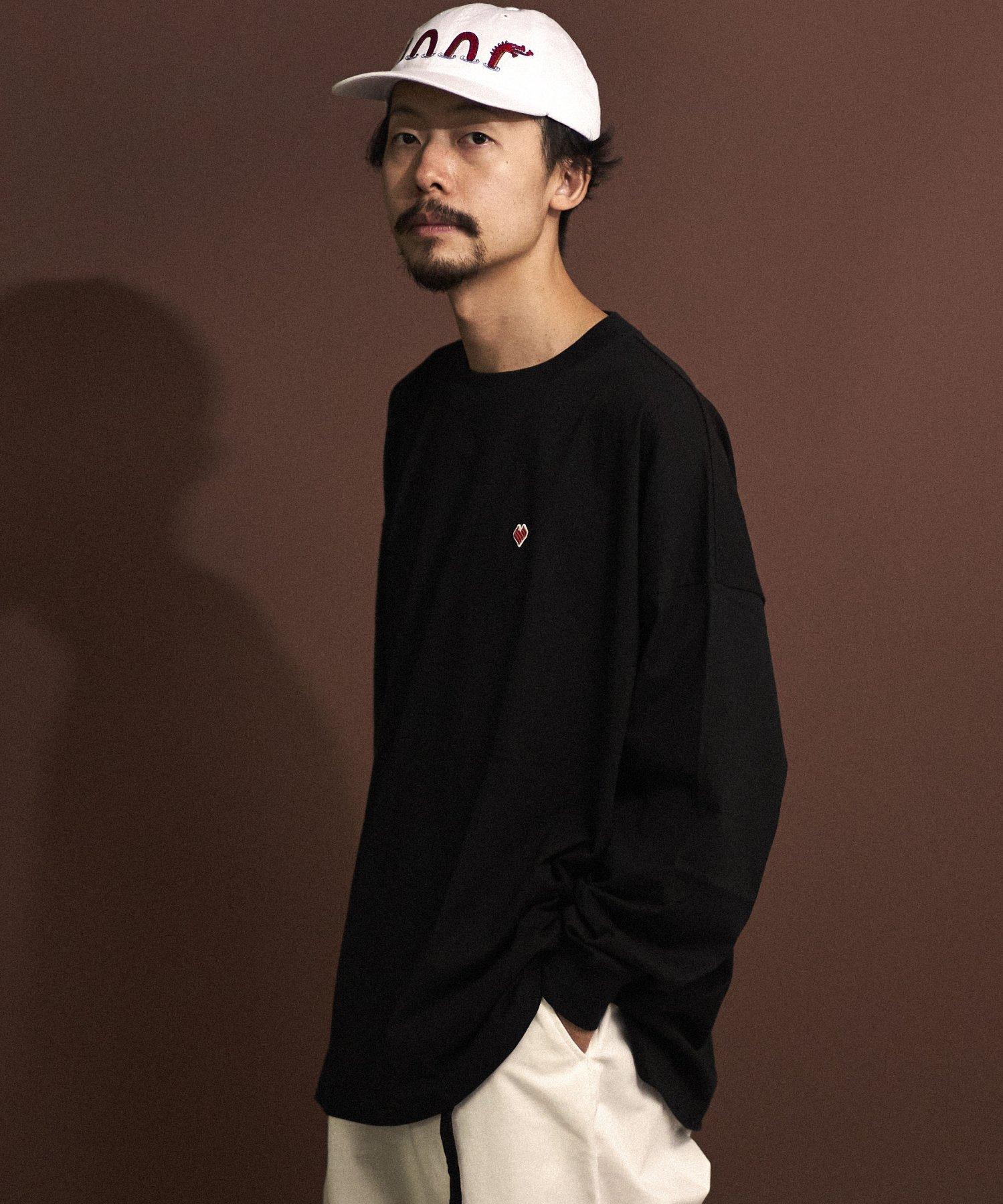 <タイムセール!! 10%OFF>【REBIRTH PROJECT】SOUL COTTON L/S T-shirt  BLK