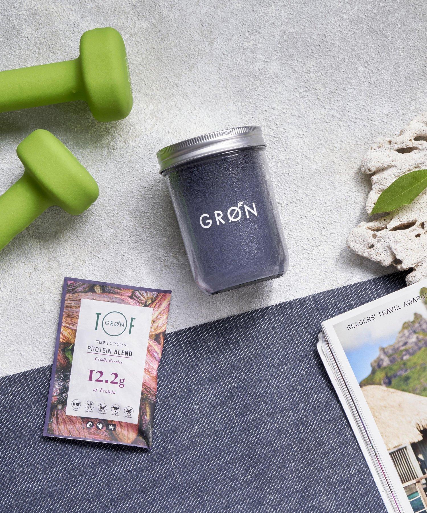 【GRON × TOF】プロテイン クリオロベリーズ 20g 個包装