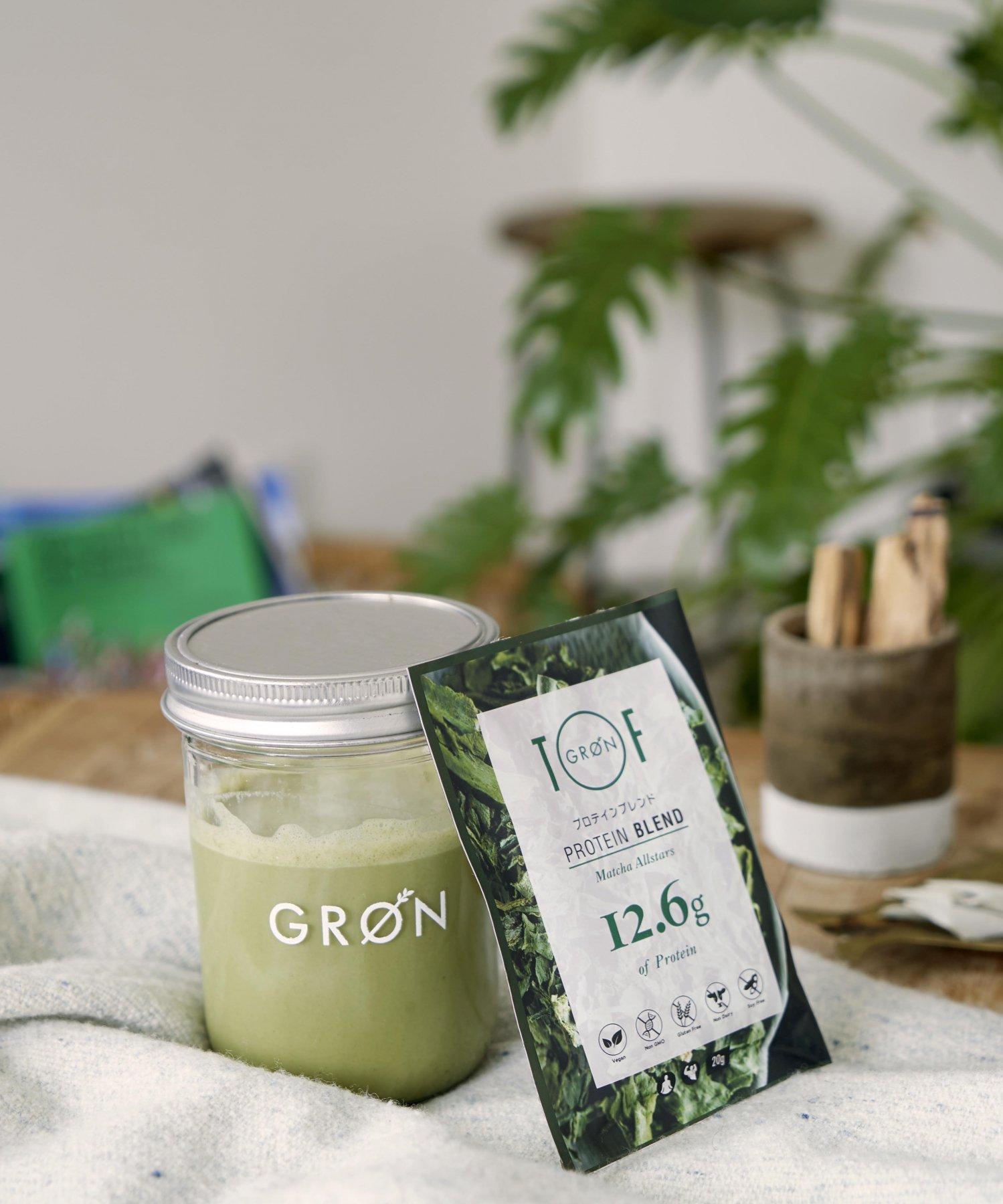 【GRON × TOF】プロテイン 抹茶オールスターズ 20g 個包装