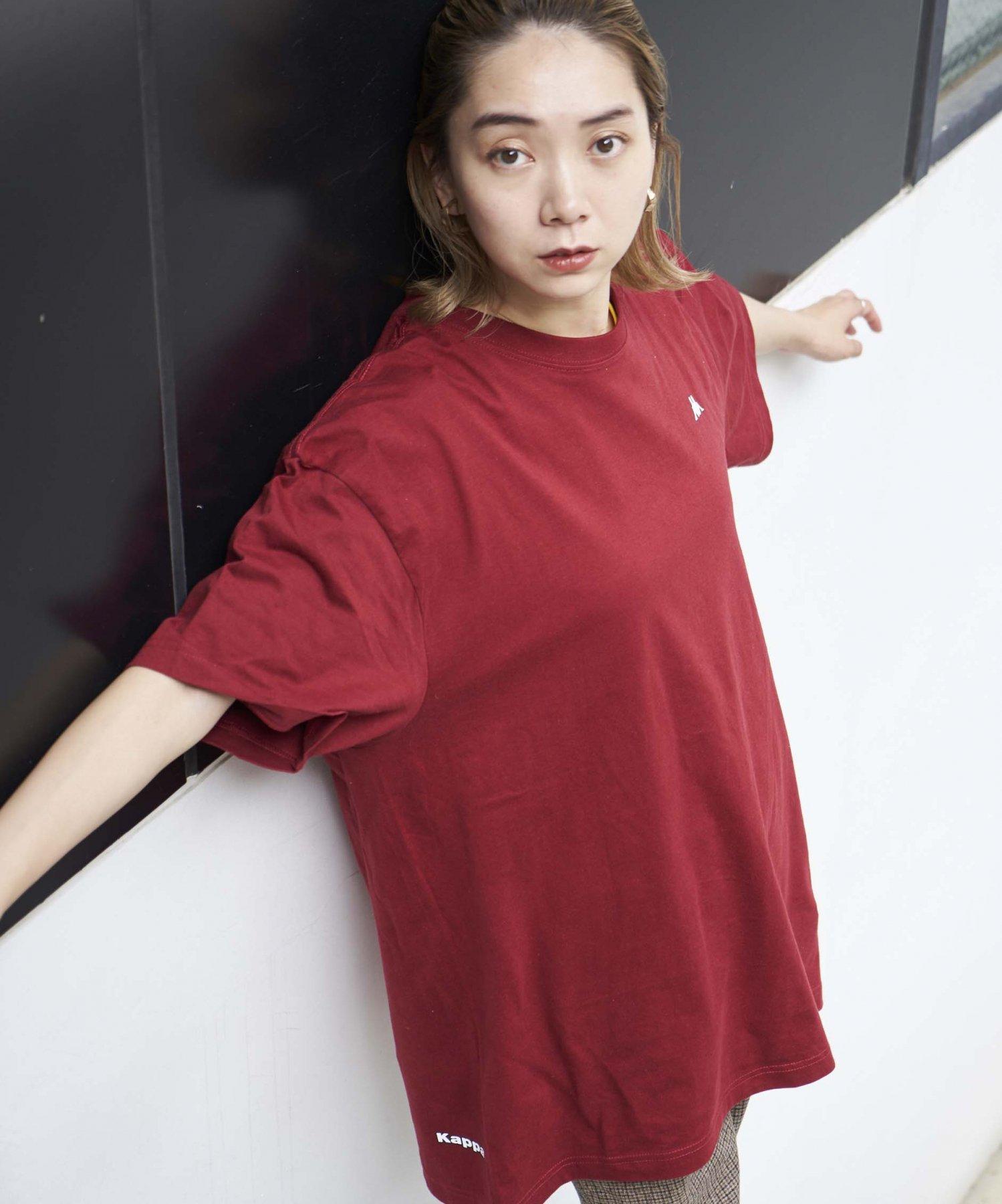 <ZERO WASTE>【REBIRTH PROJECT】Kappa別注 W4B プリントTシャツ BGD