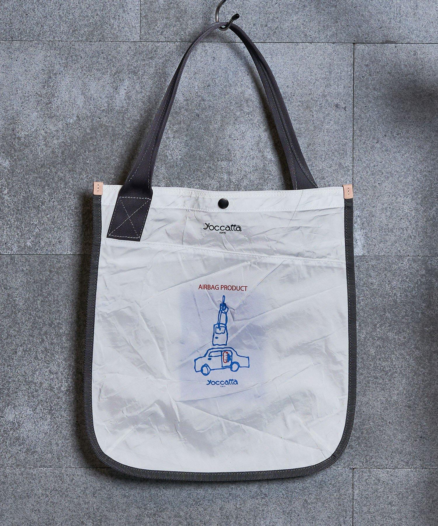 【yoccatta TOKYO】シングルハンドルトート ロゴプリント(8月上旬お届け)