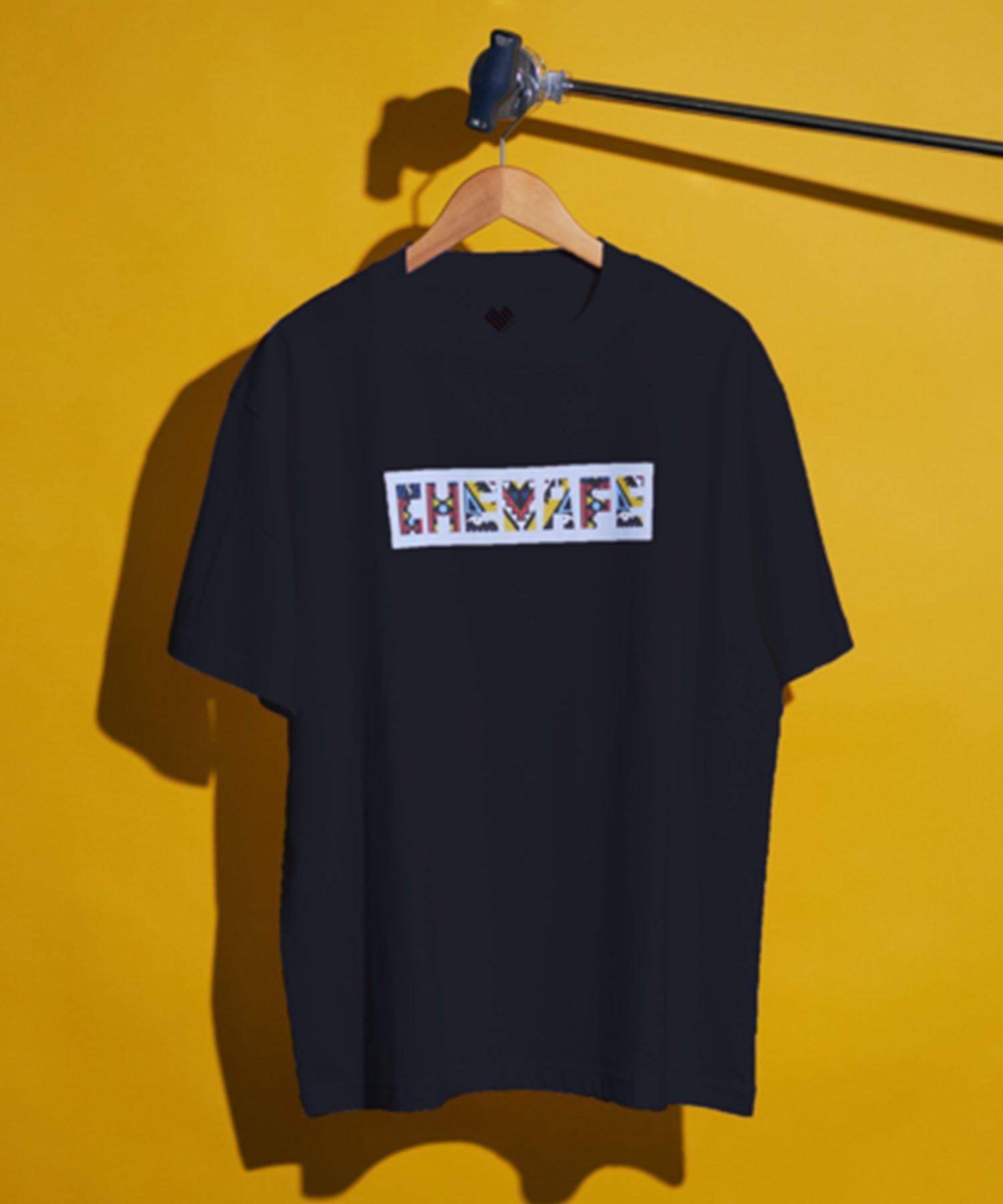 【Cheka】NAIROBI organic t-shirt BLK×GRY(11月上旬お届け)