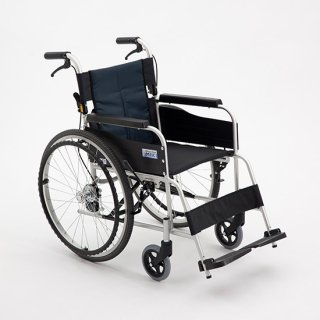 【ミキ】アルミ製スタンダード車椅子 USGシリーズ USG-1 自走用