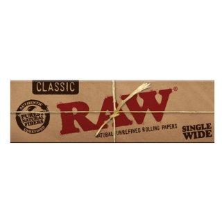 【RAW classic】 single wide (ロウ シングルワイド 50枚入)