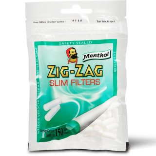zig zag ジグザグ・スリムフィルターメンソール(ZIG-ZAG SLIM FILTERS Menthol)