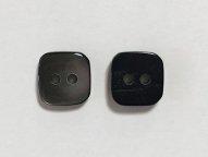 黒蝶貝ボタン スクエア 11.5mm