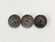 黒蝶貝ボタン ネコ目 11.5mm