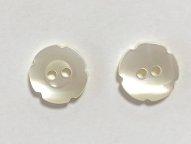 高瀬貝ボタン フラワーA 11.5mm