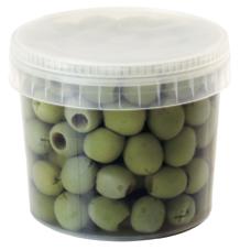 ラ・ロッカ グリーンオリーブ種無し小粒400g【冷蔵】 / La Rocca Small Sweet Pitted Green Olives