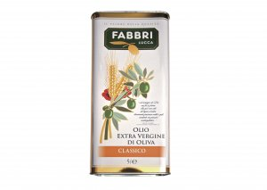 大容量!ファブリ エキストラバージンオリーブオイル5L缶【常温/冷蔵】 / Fabbri Extra vergin olive oil 5L
