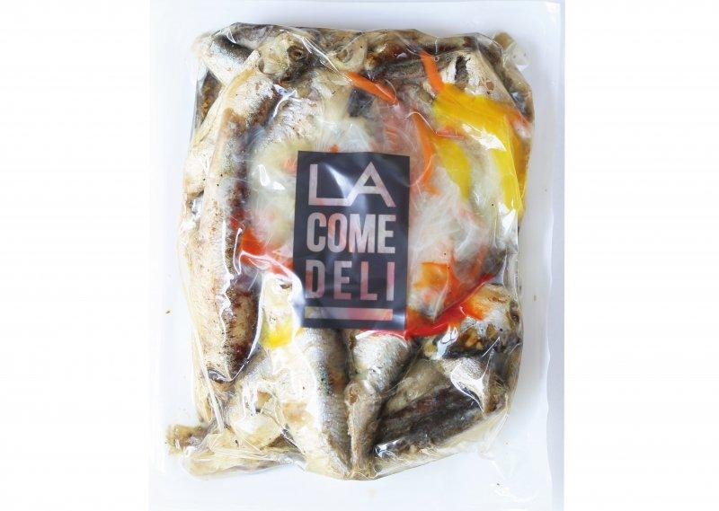 野菜たくさん欧州ニシンのエスカベッシュ(500g約30匹入り)【冷凍】※お試し価格