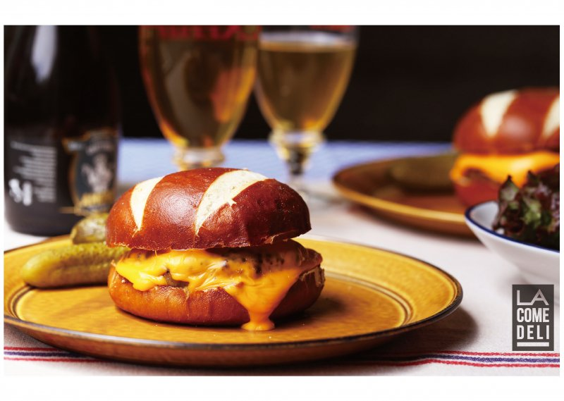 ポルペッテバーガー(牛肉&豚肉の合挽きイタリアンハンバーガー)手作りキット2個セット【冷凍】
