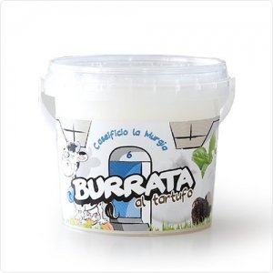 【受注生産】(11/5〜のお届け)トリュフ入りブッラータ125g【冷蔵】 / Burrata al tartufo