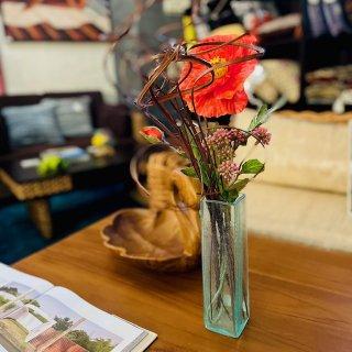 バリガラス花瓶