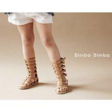 Gladiator boots sandals<br>Brown<br>『Bimbo Bimba』 2016SS