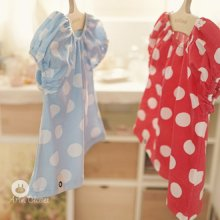 Baby Dot T<br>ベビードットT<br>Red/Sky Blue<br>【3~48month±3m】<br>『ArimCloset』 <br>16SS