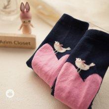 Small Birds In Love Socks<br>スモールバードインラブソックス<br>【12~36month±3m】<br>『ArimCloset』 <br>16SS