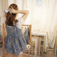 Baby Flower Dress<br>ベビーフラワードレス<br>With Baby<br>【MOM】<br>『Arim Closet』 <br>16FW