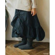 Raffle cancan skirt<br>Deep navy<br>『piccola su』 <br>16FW<br>定価<s>3,400円</s><b>20%Off</b>
