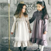 キンバリープリンセスドレス<br>Kimberly Princess Dress<br>Gold/Purple<br>『Dimplemoment』 <br>16FW