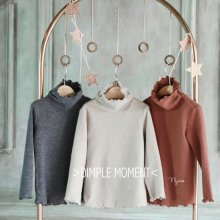 ブラウニーポーラT<br>light beige/Brown/Charcoal<br>『Dimplemoment』 <br>16FW<br>定価<s>2,600円</s><b>20%Off</b>