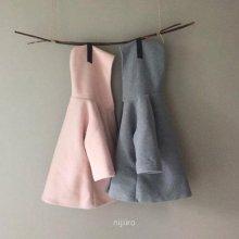 フードコート<br>Hood coat<br>Gray/Pink<br>『nijiiro select』<br>16FW<br>定価<s>6,900円</s><b>20%Off</b>