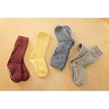 シャーロットソックスセット<br>Charlotte socks set<br>Mustard+Navy/Oatmeal+Wine<br>『Sweven | スウェボン』<br>16FW