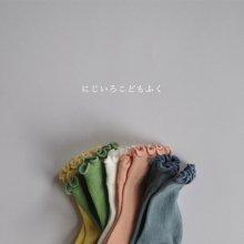 春色くるくるソックス/Spring Color Socks<br>Set of 5<br>『Team』 <br>______Restock