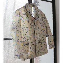 ローブブラウス/Robe blouse<br>Flower<br>『piccola』<br>17SS<br>定価<s>3,400円</s>