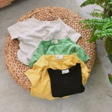 rico-T<br>ivory/yellow/green/black<br>『ojo de papa』<br>17SS<br>定価<s>1,700円</s> <b>20%Off</b>