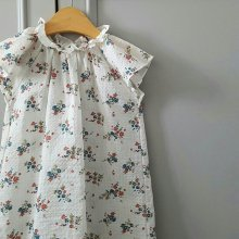 Flower one-piece<br>White<br>『Eclair』<br>17SS