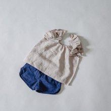 Gel blouse<br>Beige<br>『salon de Jue』<br>17SS<br>定価<s>3,200円</s><b>20%Off</b>