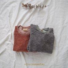 Elbow patch Sweatshirts<br>2 Color<br>『amber』<br>17FW