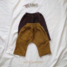amber pants<br>wine/mustard<br>『ojo de papa』<br>17FW<br>定価<s>3,200円</s><b>20%Off</b>