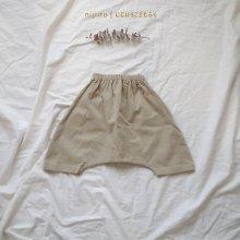Percent pants<br>beige<br>『ojo de papa』<br>17FW<br>定価<s>3,200円</s><b>20%Off</b>