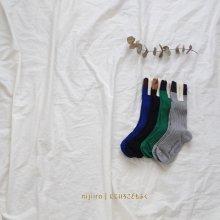 winter kneesocks #003<br>Set of 4<br>『yoi』<br>17FW
