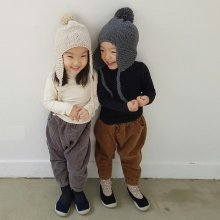 Golden Pants<br>brown/gray<br>『hana』<br>17FW