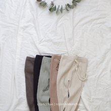 Spring Rib leggings<br>5Color<br>『marvi』<br>18SS