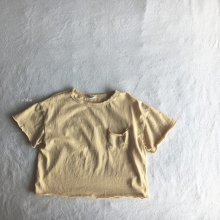 Greeny T-shirt<br>yellow<br>『O'ahu』<br>18SS<br>定価<s>1,500円</s><b>20%Off</b>