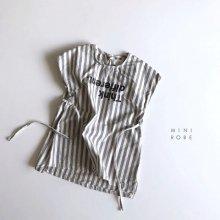 ST Linen Dress<br>Gray<br>『MINI ROBE』<br>18SS<br>定価<s>3,400円</s><b>20%Off</b>