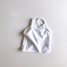 No Sleeve T<br>white<br>『MINI ROBE』<br>18SS<br>定価<s>1,500円</s><b>20%Off</b>