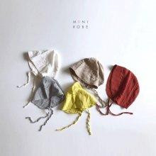 Natural bonnet<br>3 color<br>『MINI ROBE』<br>18SS