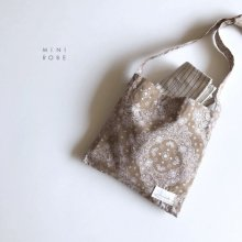 Paisley Bags<br>Beige<br>『MINI ROBE』<br>18SS
