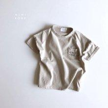 Hot Milk T<br>gray beige<br>『MINI ROBE』<br>18SS<br>定価<s>1,600円</s><b>20%Off</b>