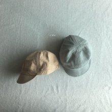 siho linen cap<br>Orange/mint<br>『O'ahu』<br>18SS
