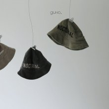 nocturnal bucket hat<br>3 Color<br>『guno・』<br>18FW <br>定価<s>2,300円</s><b>10%Off</b>