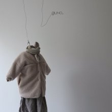 Mongle long coat<br>beige<br>『guno・』<br>18FW <br>定価<s>7,900円</s><b>10%Off</b>