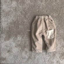 Bread Corduroy pants<br>2 color<br>『O'ahu』<br>18FW<br>定価<s>3,900円</s><b>10%Off</b>