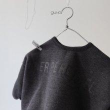 Noël T<br>Charcoal gray<br>『guno・』<br>18FW <br>定価<s>2,900円</s><br>L/XL