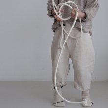 buho wrap 7 bu pt<br>ivory<br>『l'eau』<br>19SS <br>定価<s>3,200円</s><br>XS